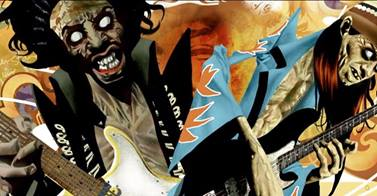 Punk is Undead, la nuova graphic novel horror che riporta in vita Jim Morrison e Jimi Hendrix