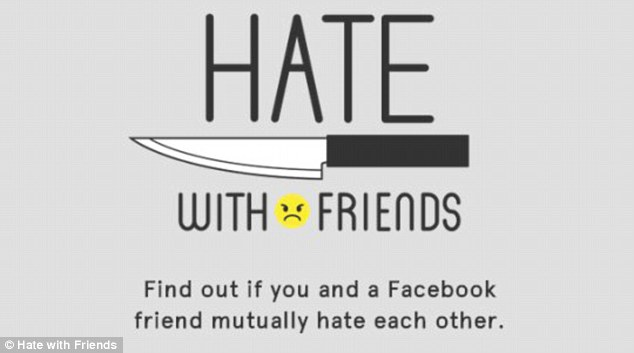 Hate With Friends, arriva l'app che rivela chi vi odia su Facebook