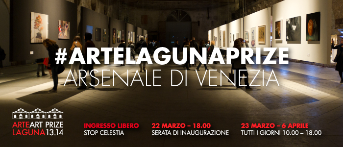 All'Arsenale di Venezia in mostra i 110 finalisti dell'8° Premio Arte Laguna