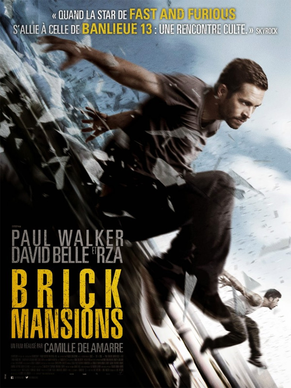 Brick Mansions: dal 1° Maggio al cinema l'ultimo film con Paul Walker