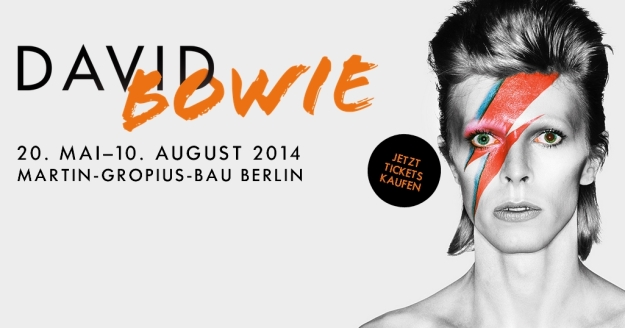 david bowie in mostra a berlino
